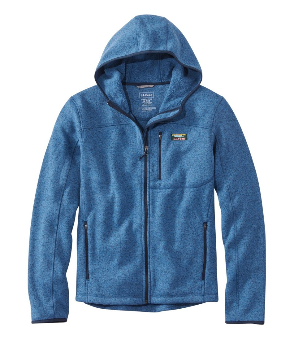 Bean's Sweater Fleece, Hooded Full-Zip Jacket