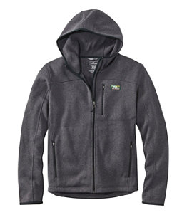 Men's Bean's Sweater Fleece, Hooded Full-Zip Jacket