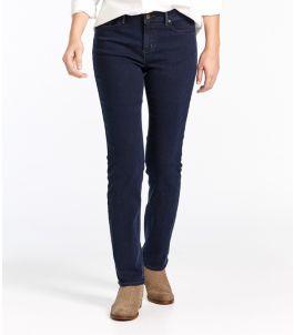 True Shape Tencel Jeans, Straight-Leg