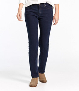Women's True Shape Tencel Jeans, Straight-Leg