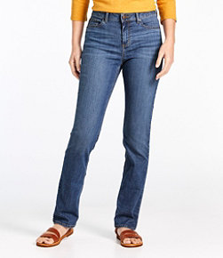Women's True Shape Tencel Jeans, Straight-Leg