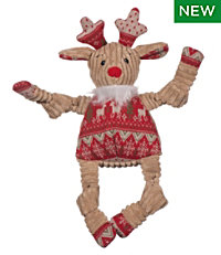 Holiday Knottie Reindeer Dog Toy