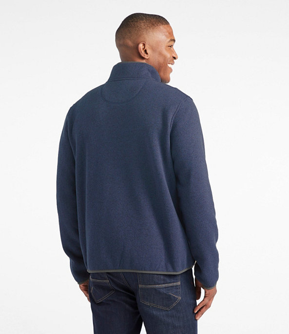 Sweater Fleece Pullover, Rustic Blue, large image number 2