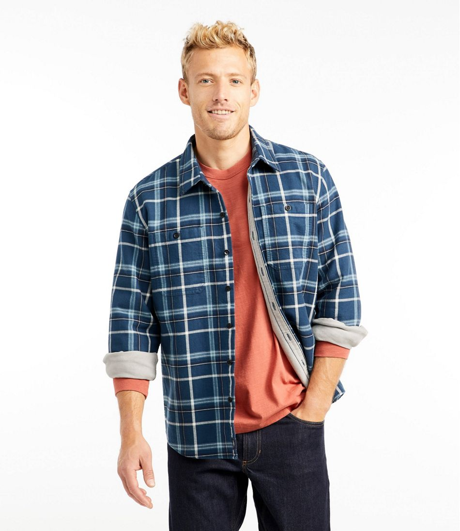 Men's Wicked Warm Shirt, Long Sleeve, Slightly Fitted Plaid
