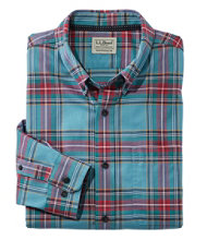 Men's Easy-Care Lakewashed Tartan, Traditional Fit