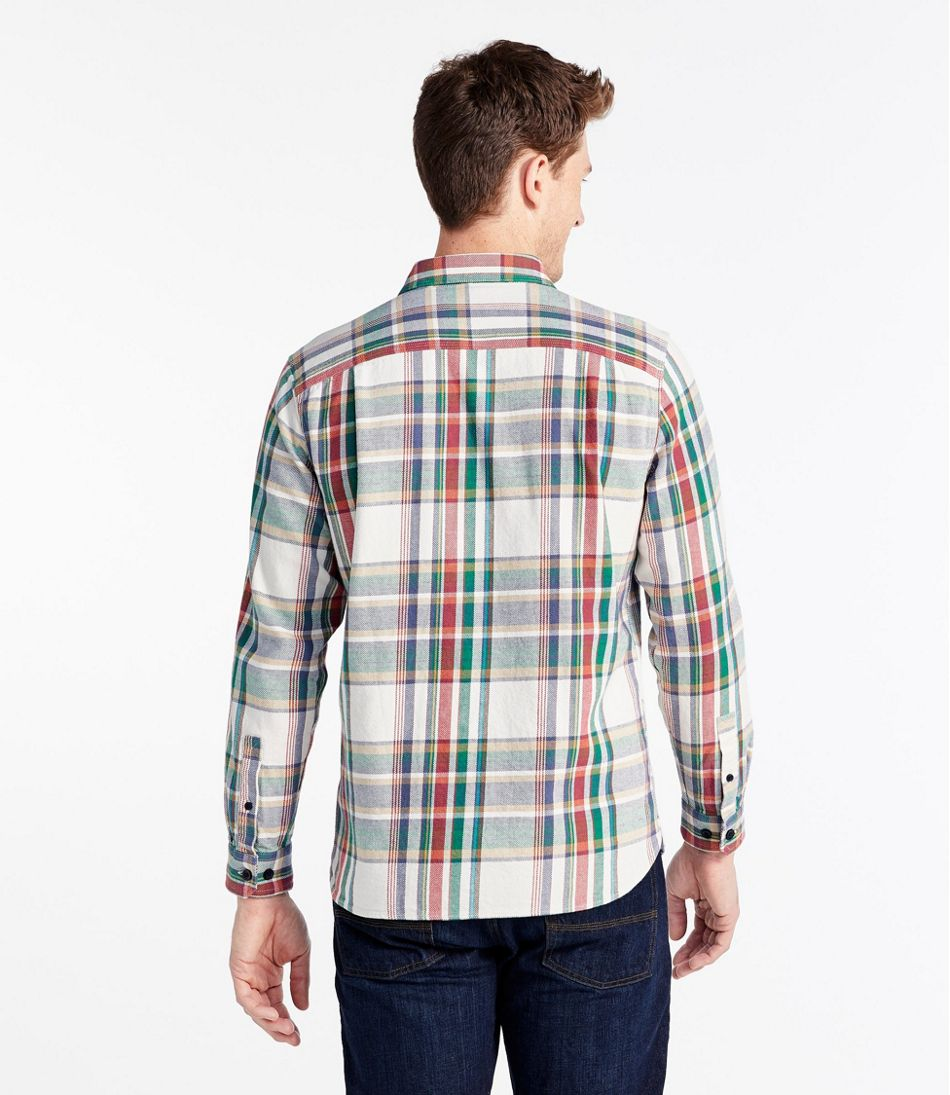 Northwoods Twill Shirt, Long Sleeve, Plaid