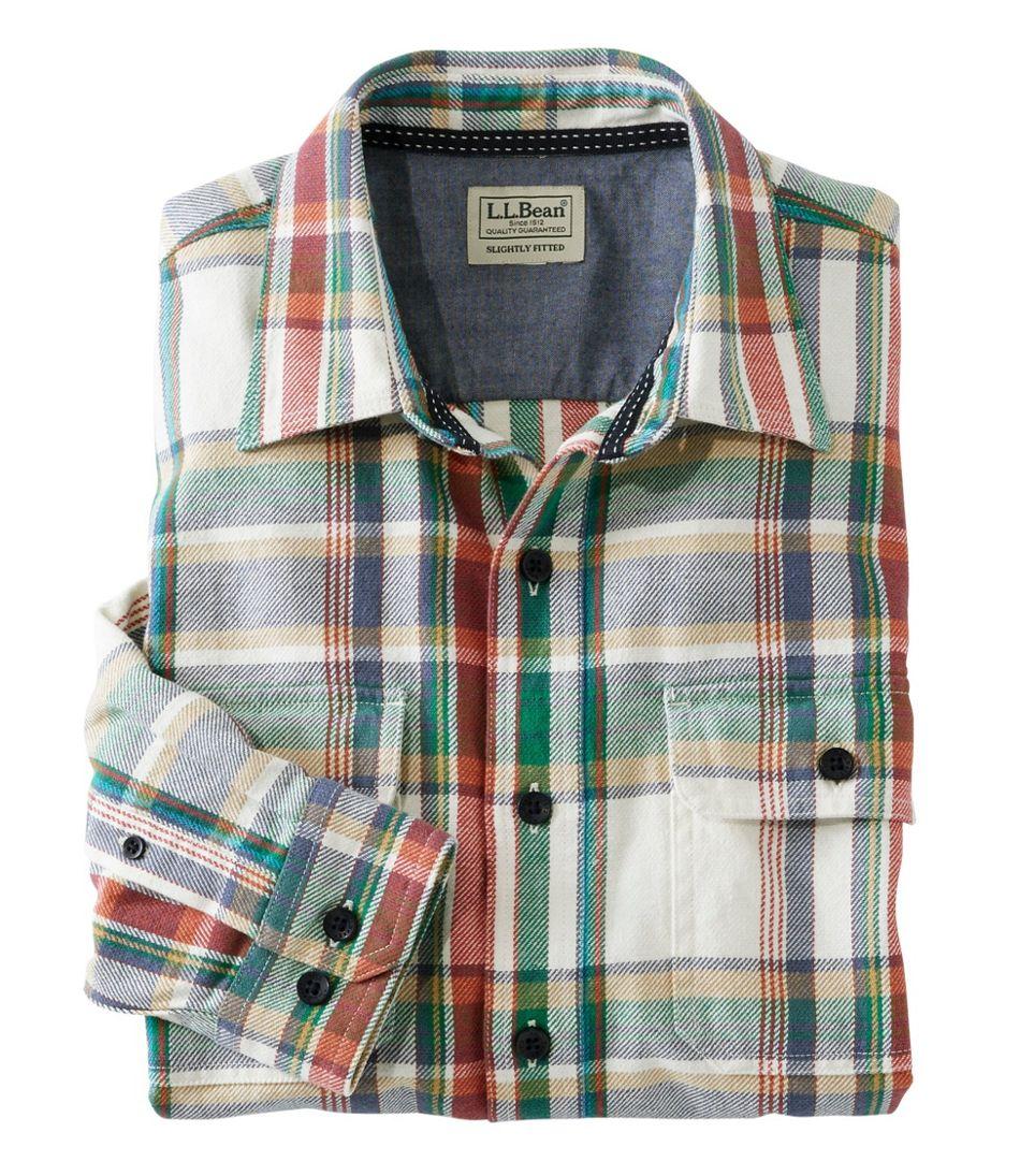 Northwoods Twill Shirt, Long Sleeve, Plaid