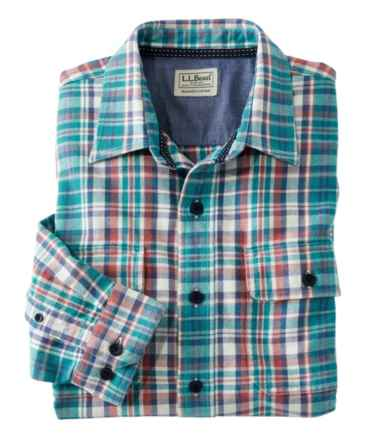 Men's Northwoods Twill Shirt, Long Sleeve, Plaid