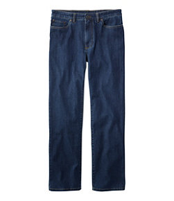Men's Lakewashed Five-Pocket Pants, Stretch Denim, Standard Fit