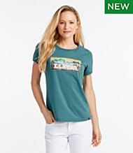 2ac492f6 Women's L.L.Bean Graphic T-Shirt, Short-Sleeve