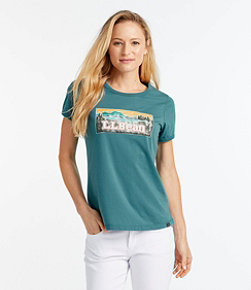 Women's L.L.Bean Graphic T-Shirt, Short-Sleeve