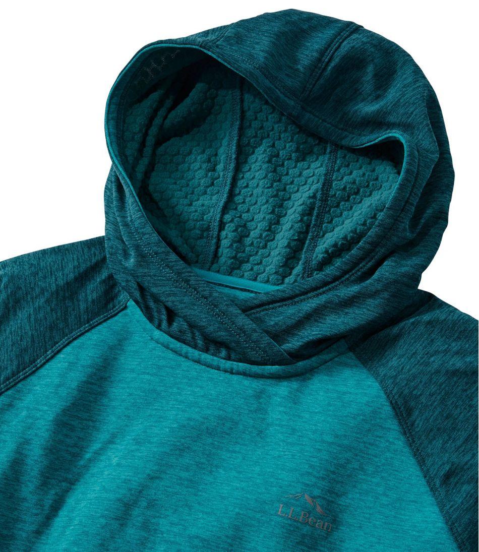 Women's Adventure Grid Fleece Pullover Hoodie, Color Block