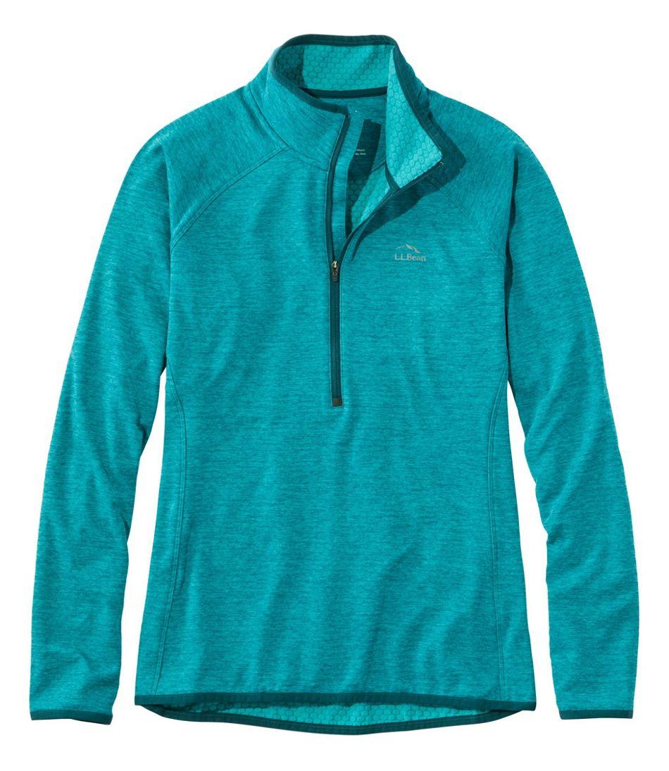 Women's Adventure Grid Fleece Quarter-Zip Pullover