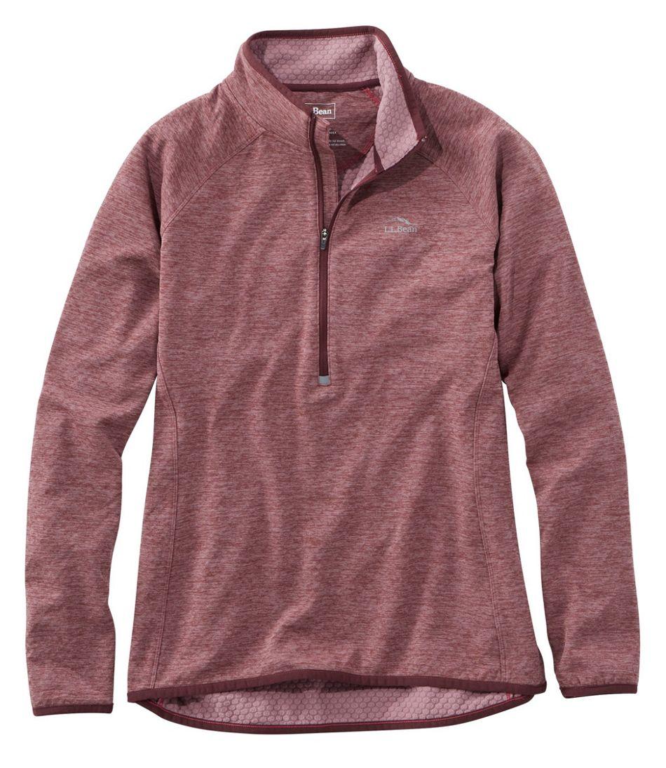 b6df0df5482 Women's Adventure Grid Fleece Quarter-Zip Pullover
