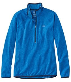 Women's Adventure Grid Fleece Quarter-Zip Pullover