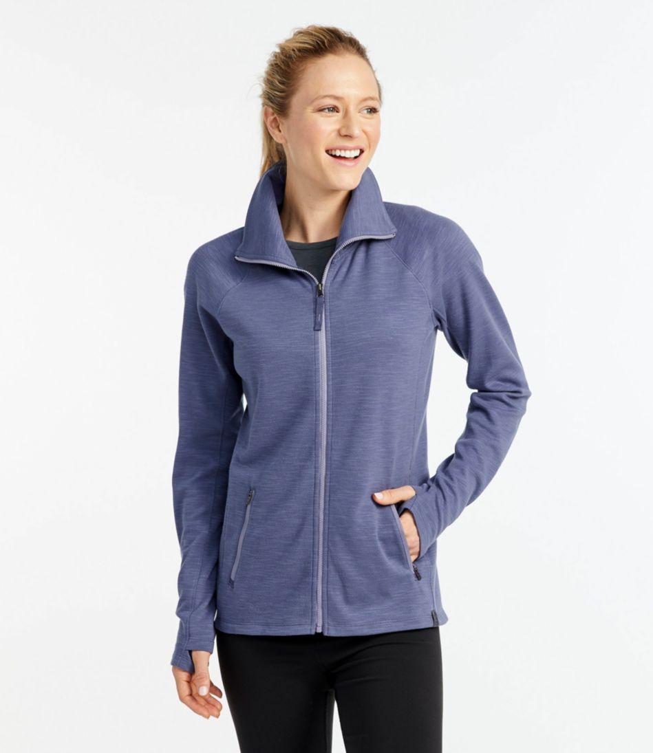 Herringbone Full-Zip Jacket