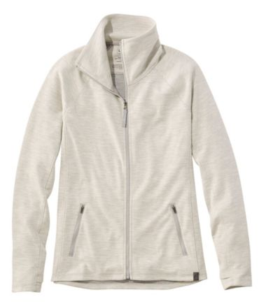 Herringbone Full-Zip Jacket