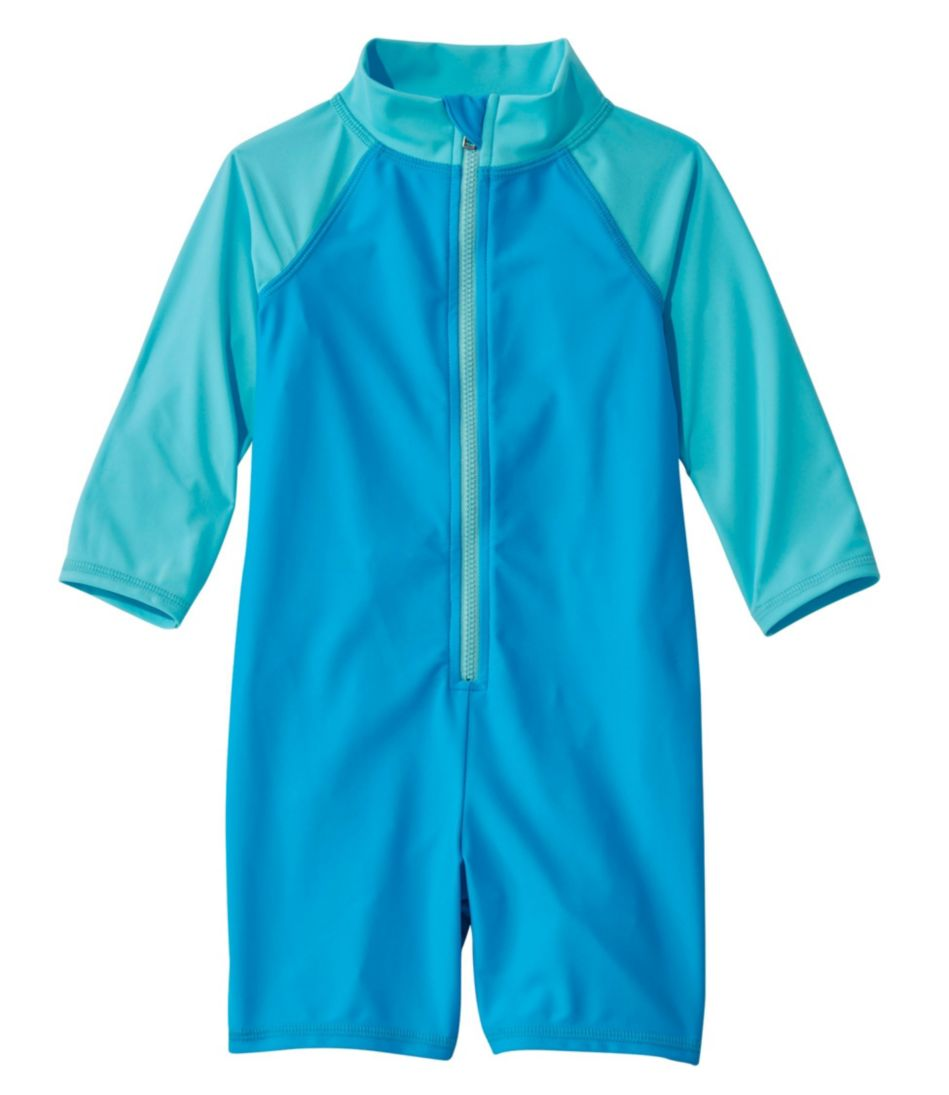 Toddlers' Sun-and-Surf Bodysuit, Colorblock