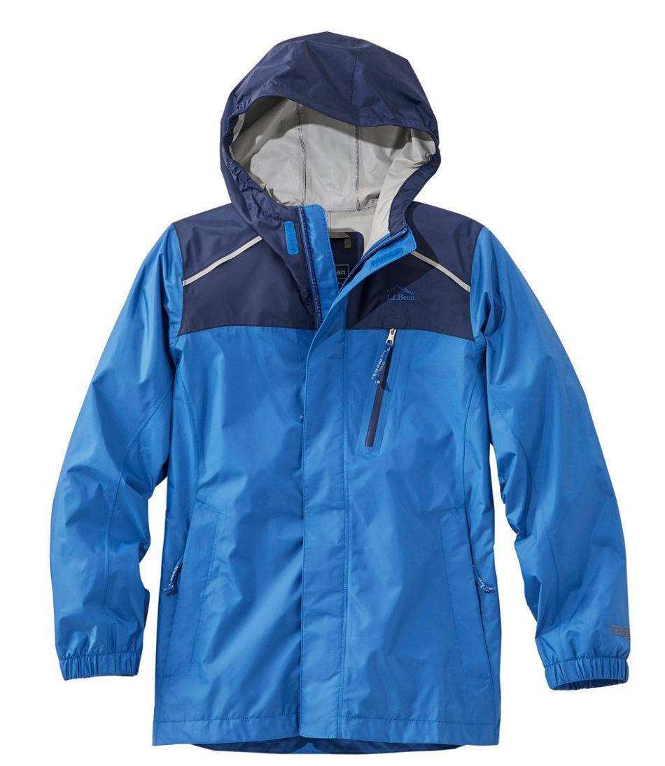 Kids' Trail Model Rain Jacket, Colorblock