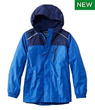 27e209f9 Kids' Trail Model Rain Jacket, Lined, Colorblock