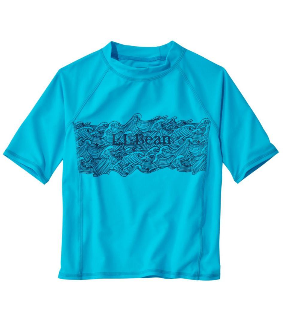 Kids' Sun-and-Surf Shirt, Short Sleeve, Graphic