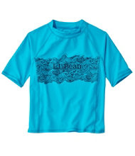 Kids' Sun-and-Surf Shirt, Short Sleeve, Graphic