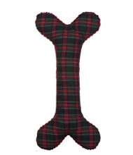 Plaid Holiday Bone