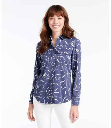 Women's Signature Utility Shirt, Print