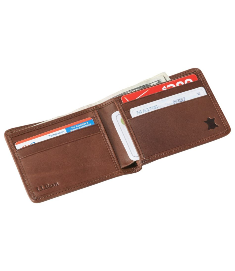 Waxed Canvas Billfold Wallet