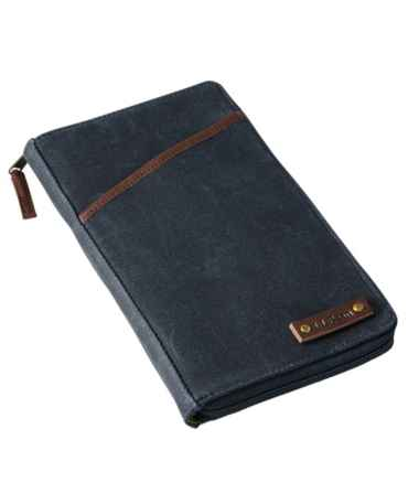 Waxed Canvas Document Wallet
