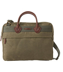 Waxed Canvas Briefcase