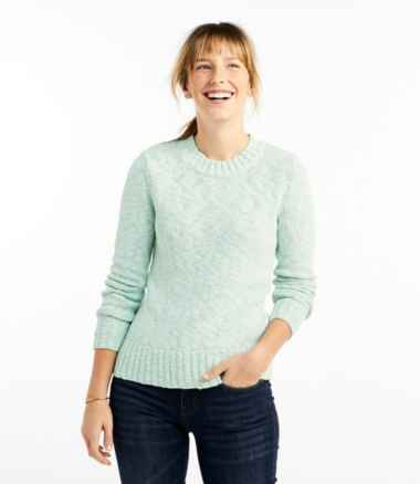 Women's Signature Cotton Slub Sweater