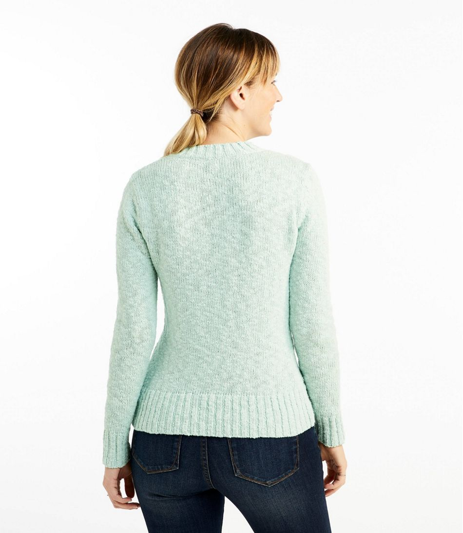 Signature Cotton Slub Sweater