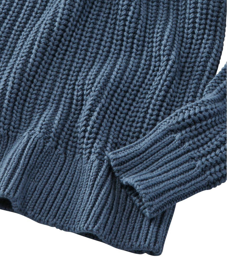 Rope Stitch Shaker Mockneck Henley, Stripe