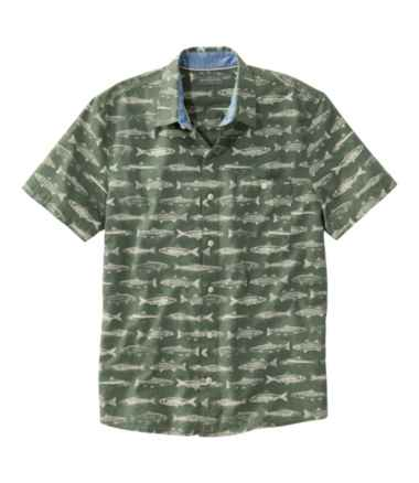 Signature Printed Shirt, Short-Sleeve