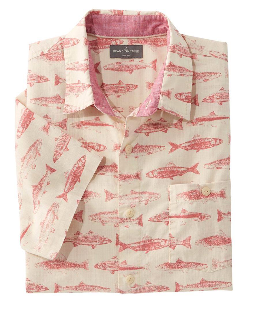 Signature Printed Shirt, Short-Sleeve
