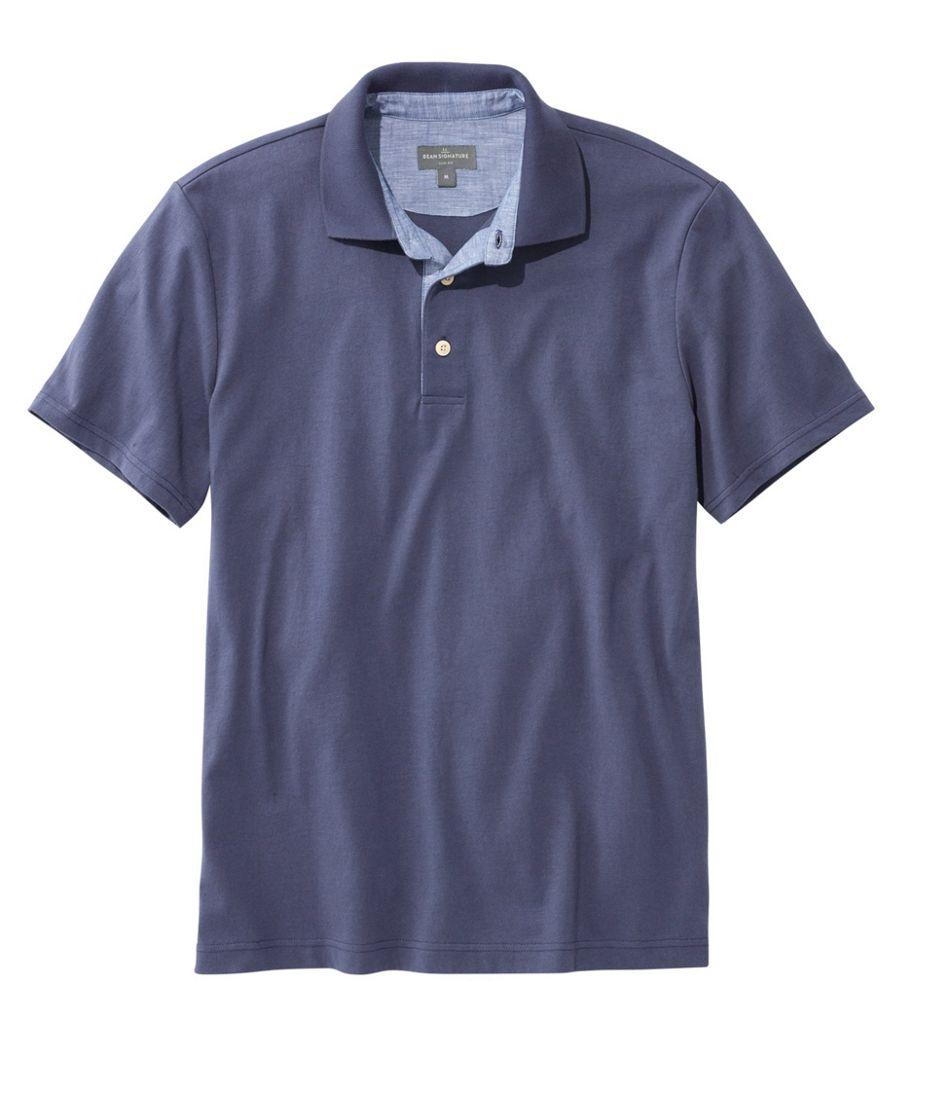 Men's Signature Polo Shirt, Short-Sleeve