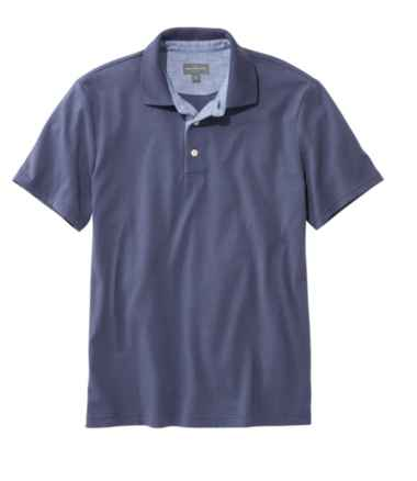 Men's Signature Polo Shirt, Short-Sleeve