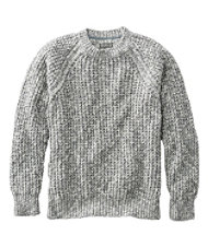 Signature Cotton Ragg Sweater, Crewneck