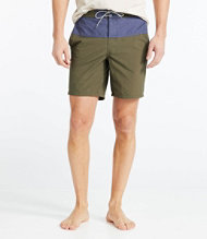 Signature Hybrid Board Shorts, Colorblock