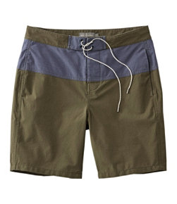 Men's Signature Hybrid Board Shorts, Colorblock