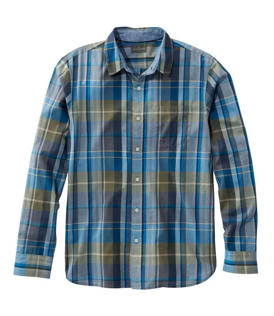 Signature Madras Shirt, Long-Sleeve, Plaid