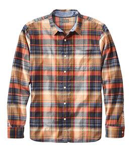 Men's Signature Madras Shirt, Long-Sleeve, Plaid