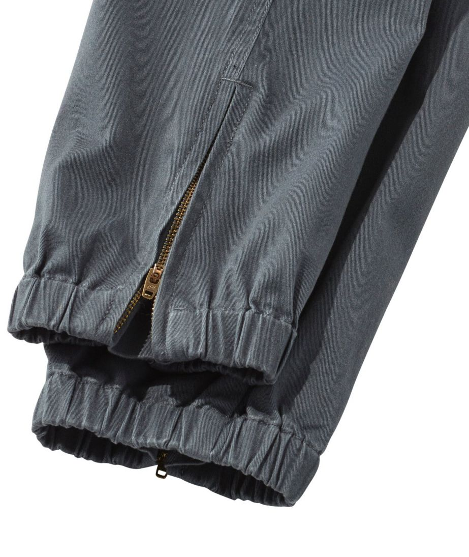Signature Washed Twill Elastic Cuff Pants