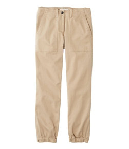 Women's Signature Washed Twill Elastic Cuff Pants
