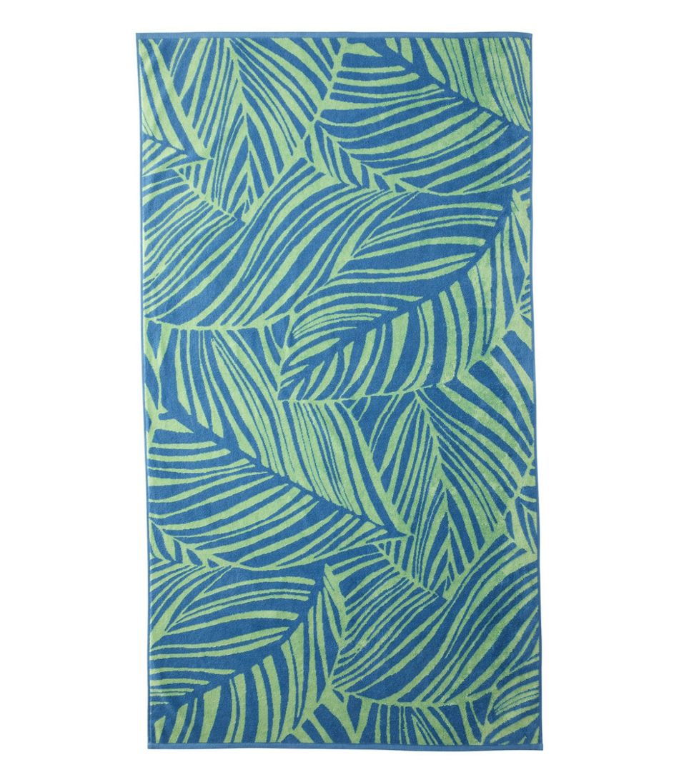 Seaside Beach Towel, Leaf