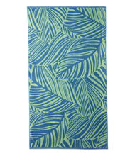 Seaside Beach Towel, Leaf