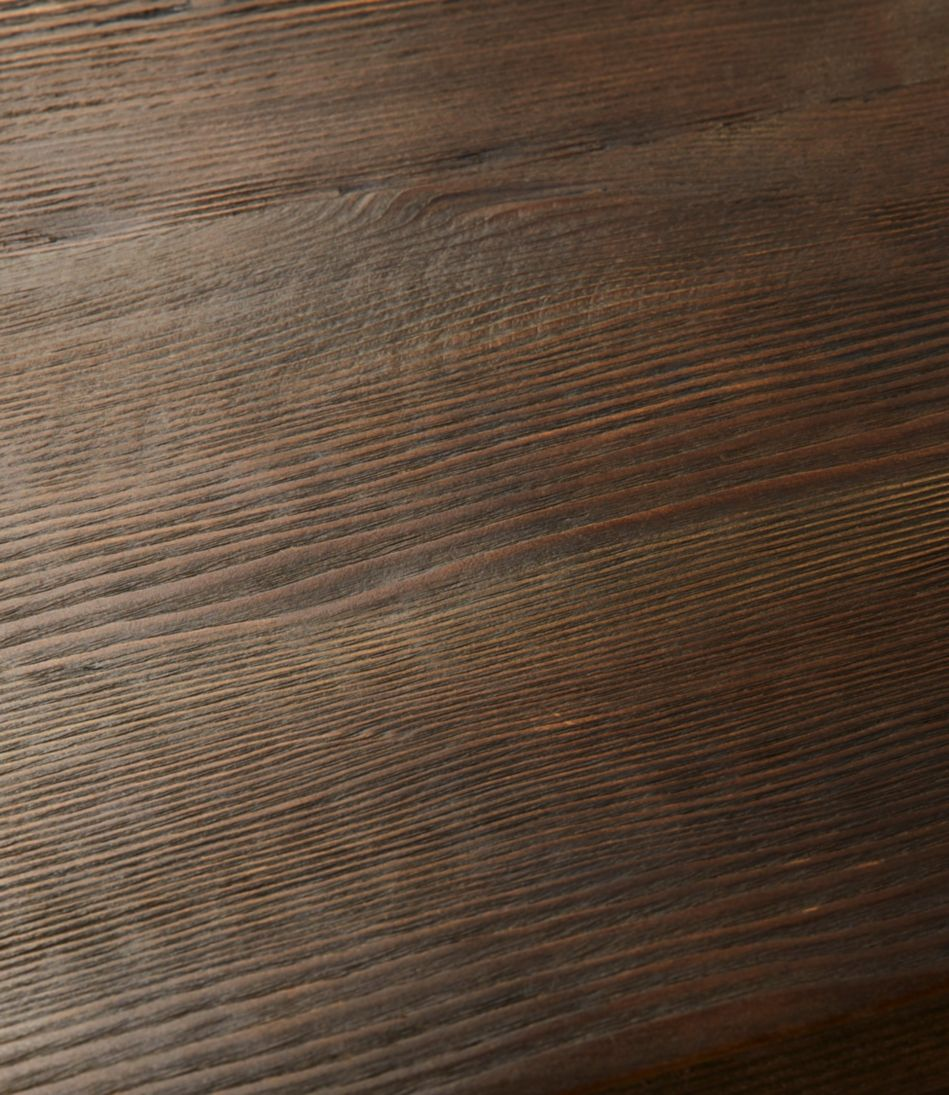Rough Pine Storage Bench