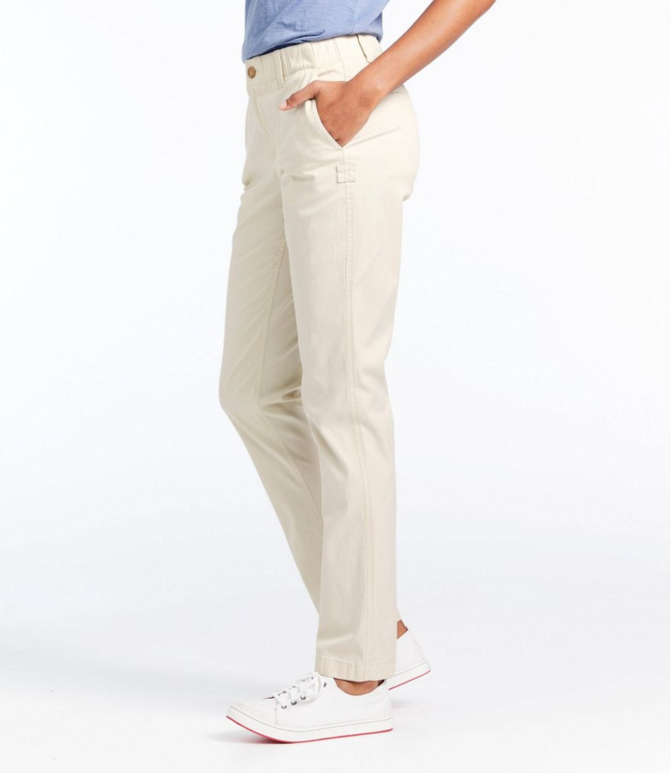 Women's Stretch Tencel Chino Pants