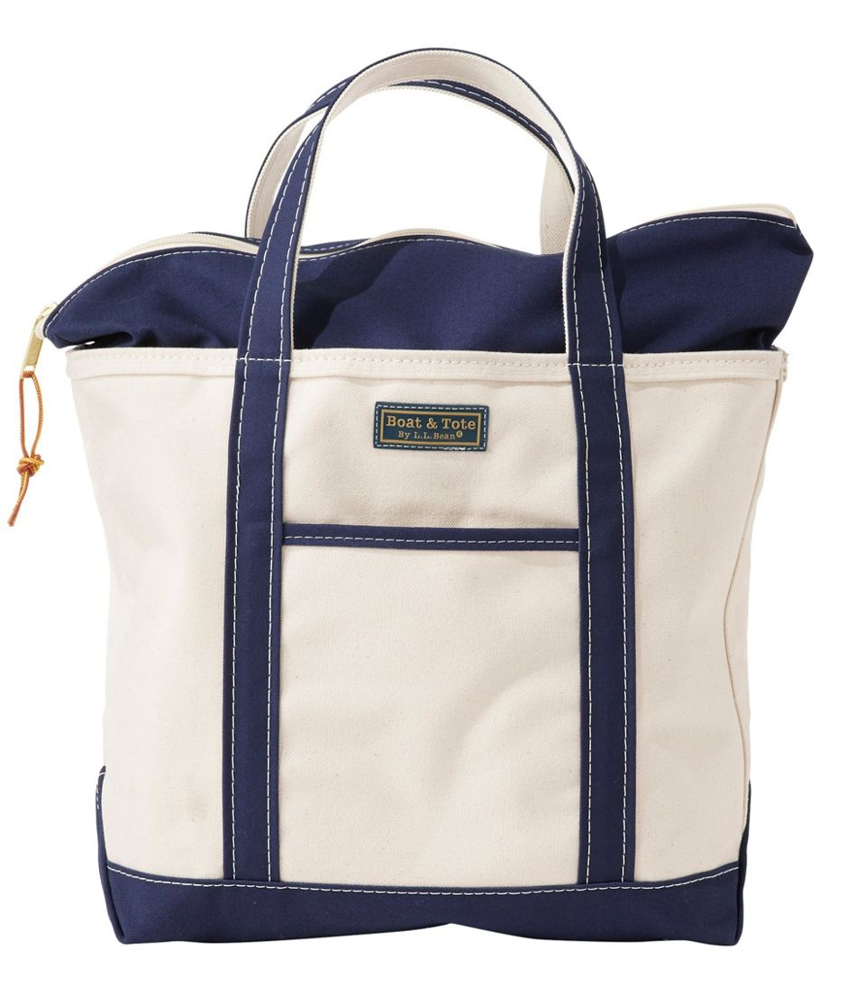 Bean Boot Boat and Tote